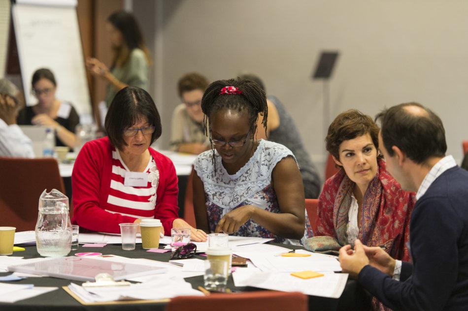 Lab participants at Q Lab workshop